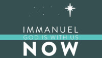 Immanuel:  God is with Us NOW